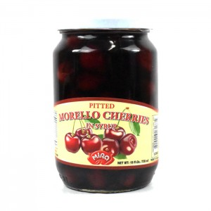 MIRA - PITTED MORELLO CHERRIES IN SYRUP
