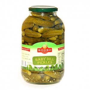 RODEO - BABY DILL PICKLES 4.4lb