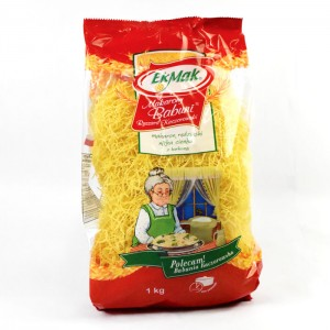 BABUNI - POLISH NOODLES DELICATE THIN WITH TURMERIC