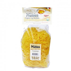 MUHLEN - ORGANIC GERMAN THIN NOODLES