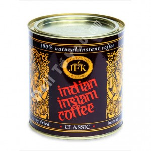 JFK - INDIAN INSTANT COFFEE IN CAN