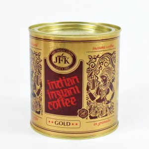 JFK - INDIAN GOLD INSTANT COFFEE IN CAN