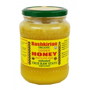 BASHKIRIAN - ORGANIC LINDEN HONEY