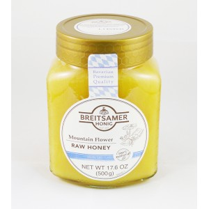 BREITSAMER - BAVARIAN MOUNTAIN FLOWER RAW HONEY