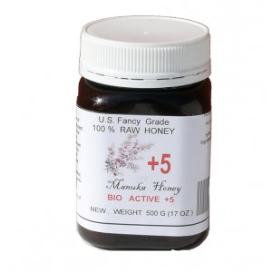 MANUKA - US FANCY GRADE BIO ACTIVE HONEY +5