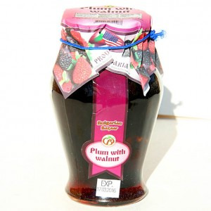 BULGARIAN BAZAAR - PLUM WITH WALNUT JAM