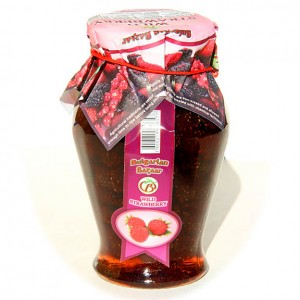 BULGARIAN BAZAAR - WILD STRAWBERRY JAM