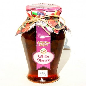 BULGARIAN BAZAAR - WHITE CHERRY JAM