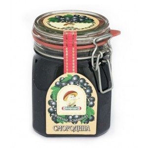 ECOPRODUKT - HOMEMADE BLACK CURRANT PRESERVE