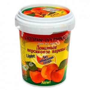 ISRAELI JAM - PEACH PRESERVE NO SUGAR ADDED