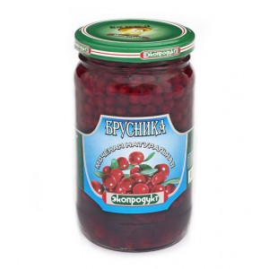ECOPRODUKT - PICKLED COWBERRY (BRUSNIKA)