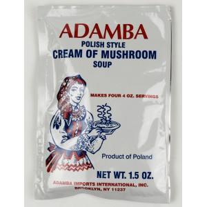 ADAMBA - CREAM OF MUSHROOM SOUP POLISH STYLE