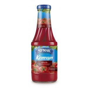 CHUMAK - KETCHUP FOR GRILLED ITEMS (glass)