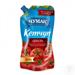 CHUMAK - KETCHUP FOR GRILLED ITEMS (pack)