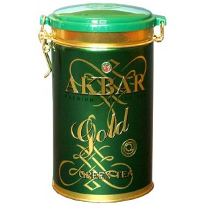 AKBAR - GREEN TEA (can)