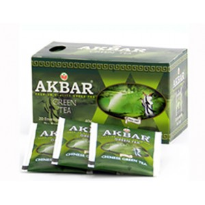 AKBAR - GREEN TEA (100 bags)