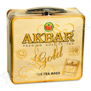 AKBAR - GOLD LUNCH TEA, BLACK