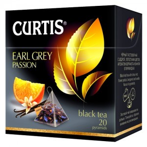 CURTIS - TEA PYRAMID EARL GREY PASSION