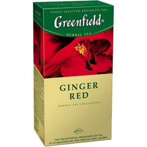 GREENFIELD - TEA GINGER RED