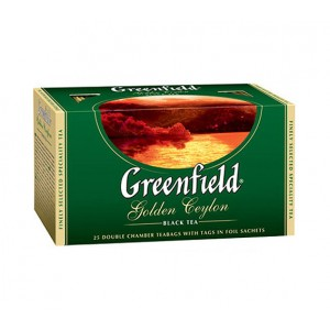 GREENFIELD - GOLDEN CEYLON TEA