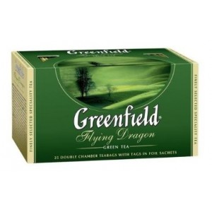 GREENFIELD - GREEN TEA FLYING DRAGON