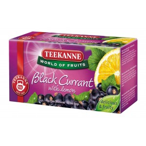 TEEKANNE - BLACK CURRANT TEA