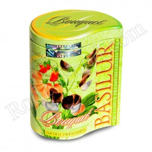 BASILUR - BOUQUET ASSORTED GREEN FRESHNESS TEA