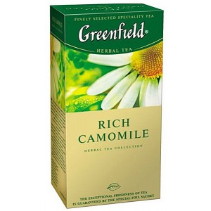 GREENFIELD - RICH CAMOMILE TEA