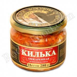 RIGA GOLD - ROASTED KILKAS IN TOMATO SAUCE