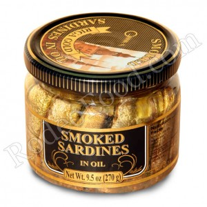 RIGA GOLD - SMOKED SARDINES IN OIL