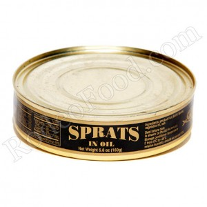 LATVIAN SPRATS IN OIL