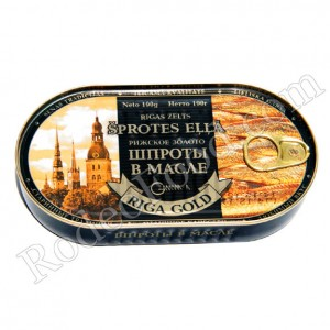 RIGA GOLD - SPRATS IN OIL