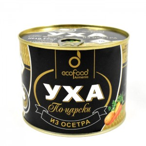 ECO FOOD - IMPERIAL UHA - STURGEON FISH SOUP