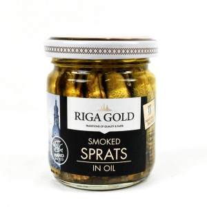 RIGA GOLD - SPRATS IN OIL SMALL