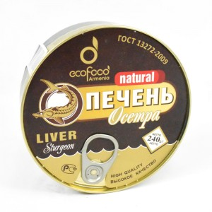 ECO FOOD - NATURAL STURGEON LIVER