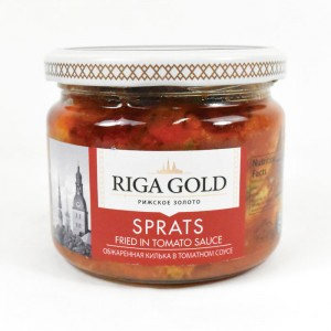 RIGA GOLD - SPRATS IN TOMATO SAUCE