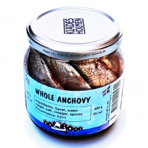 BOVIKS - WHOLE ANCHOVY