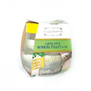 FISH MEISTER - HERRING FILLET LIGHTLY SALTED