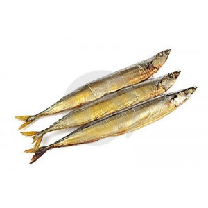 COLDSMOKED SAURY FROM SAKHALIN