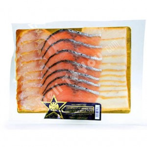 3 TYPES ASSORTED SMOKED FISH 1lb