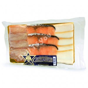 3 TYPES OF ASSORTED SMOKED FISH 8oz