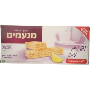 MANAMIM - SUGAR-FREE LEMON WAFERS