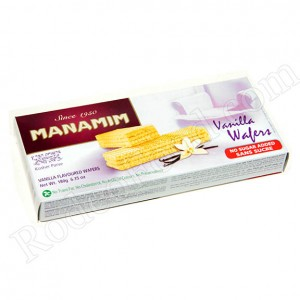 MANAMIM - SUGAR-FREE VANILLA WAFERS