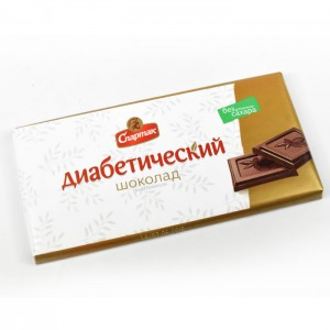 SPARTAK - SUGAR-FREE DIABETIC BITTER CHOCOLATE