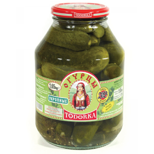 TODORKA - GHERKINS WITH DILL, PICKLED 3.6lb