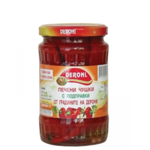 TODORKA - DERONI BELL PEPPERS ROASTED WITH HERBS