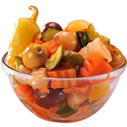 Pickled Veggies in Pail