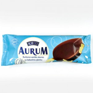 AURUM - BOURBON VANILLA ICE CREAM IN CHOCOLATE